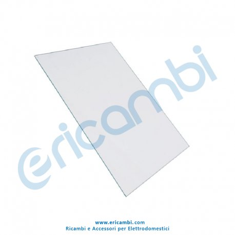 Ripiano vetro 485 x 329