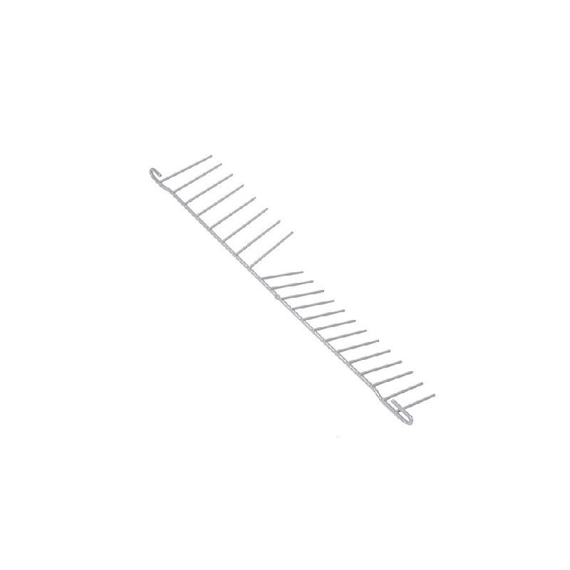 Separatore posteriore grigio